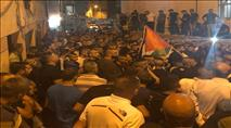 למרות הודעת המשטרה: המחבל התקבל בחגיגות הסתה