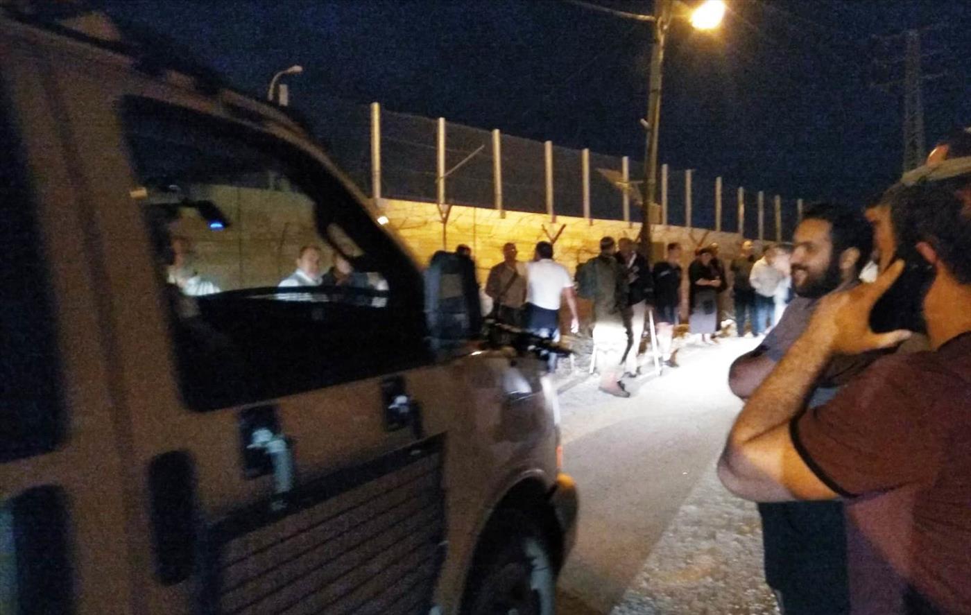 ההפגנה בבית אל בשבוע שעבר (הוואצאפ האדום של הקול היהודי)