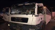 שלושה פצועים בתקיפת הסעה צבאית שנקלעה לקלנדיה