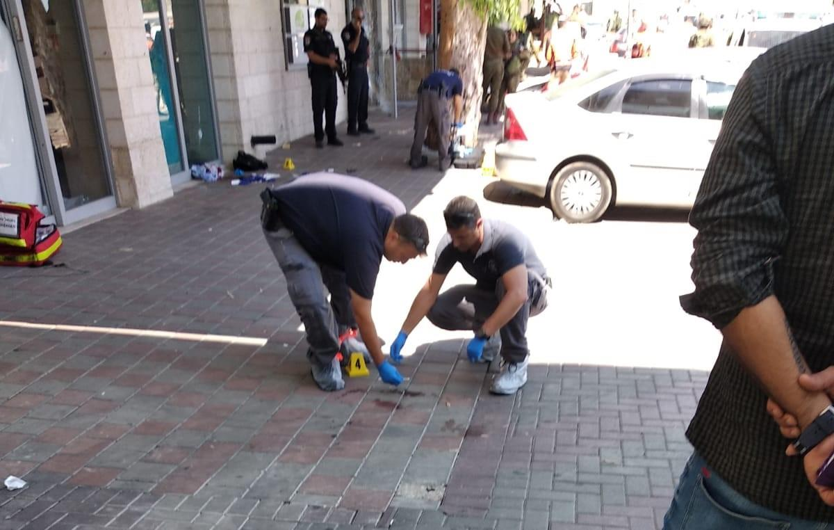 זירת הפיגוע בגוש עציון (מאיר דנינו)