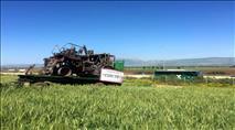 הטרור החקלאי: שלדי הכלים שהוצתו יוצגו לציבור