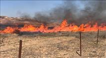 צפו: עוטף עזה בוער -  עשרות שריפות בימים האחרונים