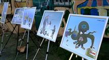 תערוכה אנטישמית בהשתתפות נציגי האיחוד האירופי