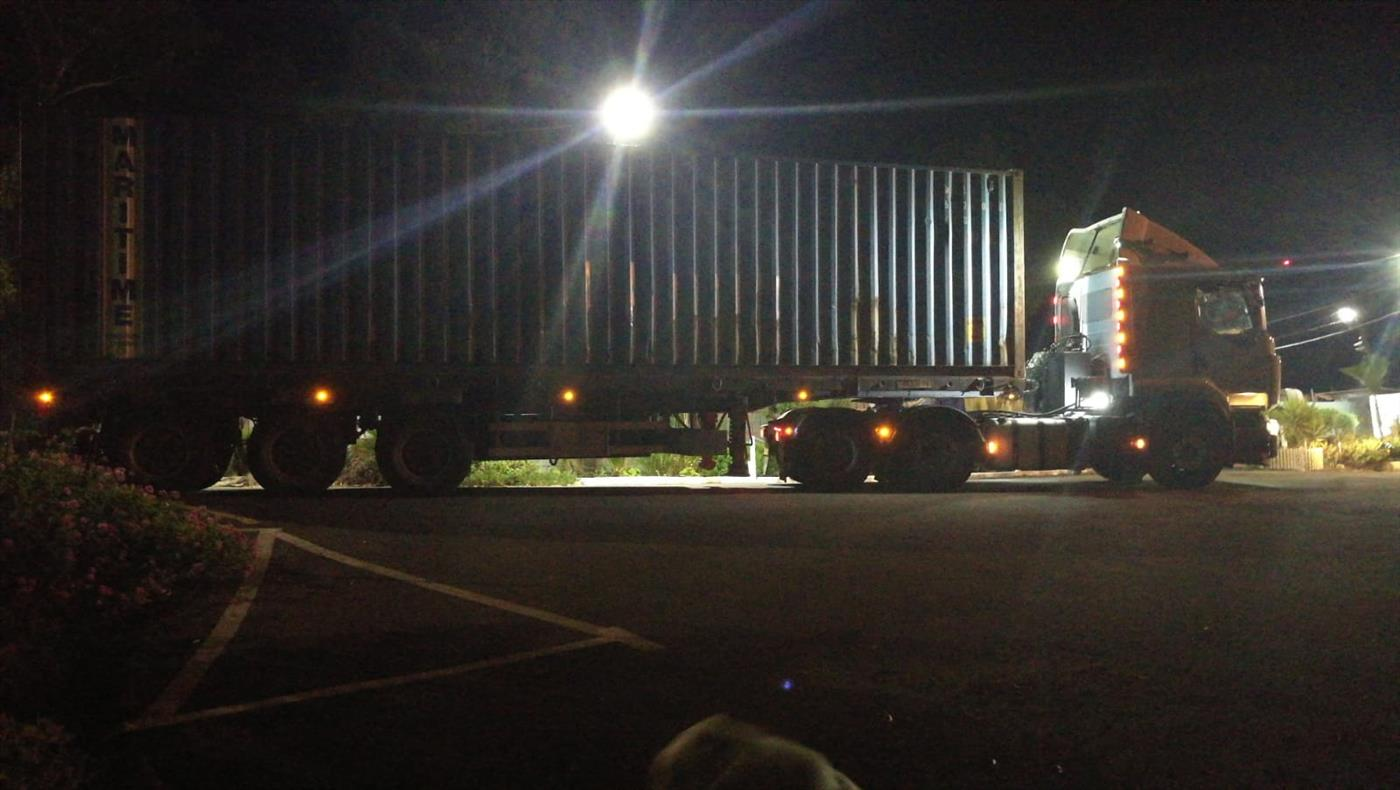 """משאית. ארכיון (צילום: דוברות מג""""ב)"""