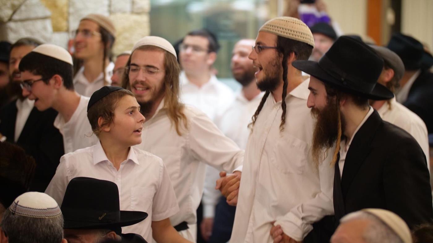 שמחת בית השואבה - צילום: אברהם שפירא