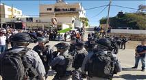 """בחירות ב""""מגזר"""": התפרעויות, ירי ושוטרים פצועים"""