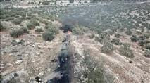 יצהר: בזמן המסיק - ערבים הציתו שריפות