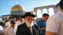 """הרב דרורי בהר הבית: """"בעז""""ה נבנה את המקדש"""""""