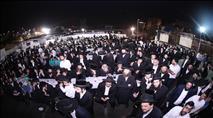 צפו: אלפים בהילולת שמעון הצדיק בירושלים