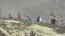 עוריף: קצין ירה בערבי שזרק אבנים