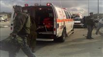 """שני שוטרי מג""""ב נפצעו מאבנים שיידו ערבים"""