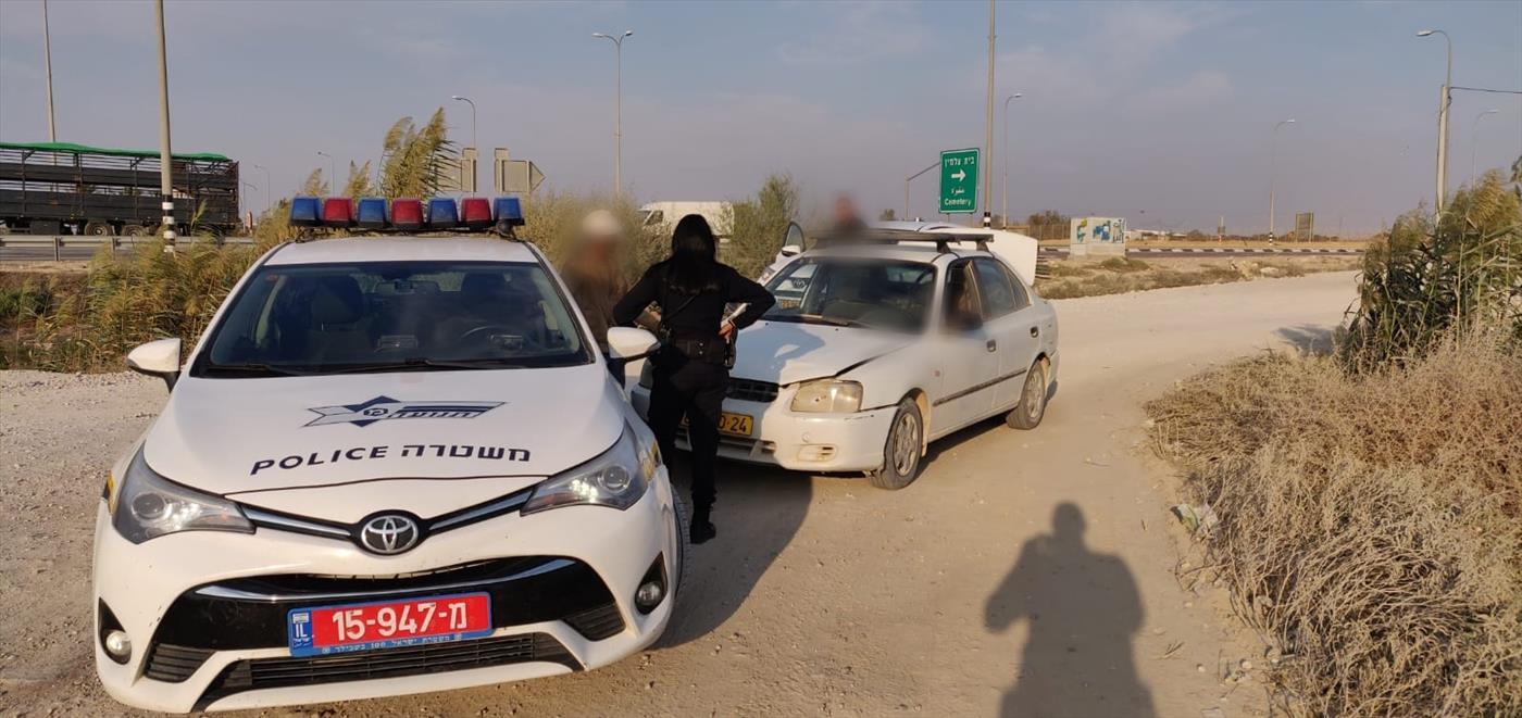 שוטרים בפעילות. ארכיון (משטרת התנועה)