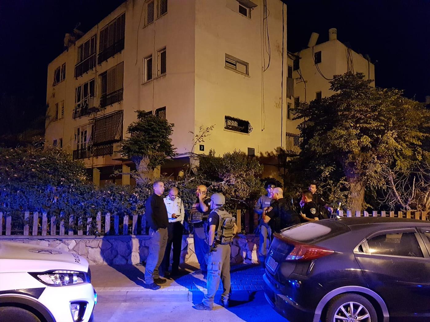 בית שנפגע מרקטה בעיר אשקלון אביב הרץ TPS