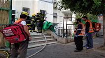 שריפה בבית שמש - 19 נפגעים