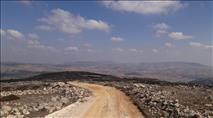 דרך חדשה נסללה למזבח יהושע בהר עיבל