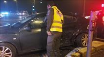 צפו: חוליית גנבי רכב ערבים נתפסת לאחר מרדף