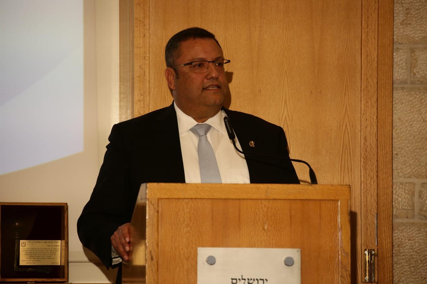 ראש עיריית ירושלים משה ליאון  (צילום: אסתי דיוזבוב TPS)
