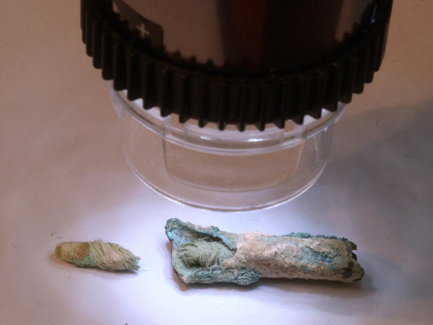 הפתילה העתיקה (צילום: קלרה עמית, רשות העתיקות)