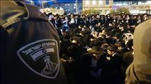 רימוני הלם ואלימות: המשטרה השתוללה בבני ברק