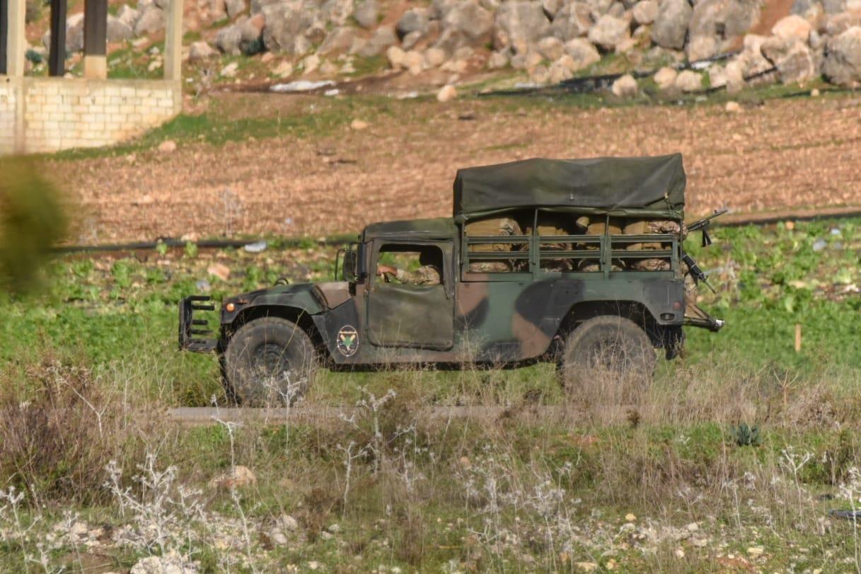 כוחות צבאיים בגבול לבנון (קובי ריכטר TPS)