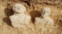 יצאה לטיול ומצאה פסלים בני כ-1700 שנה