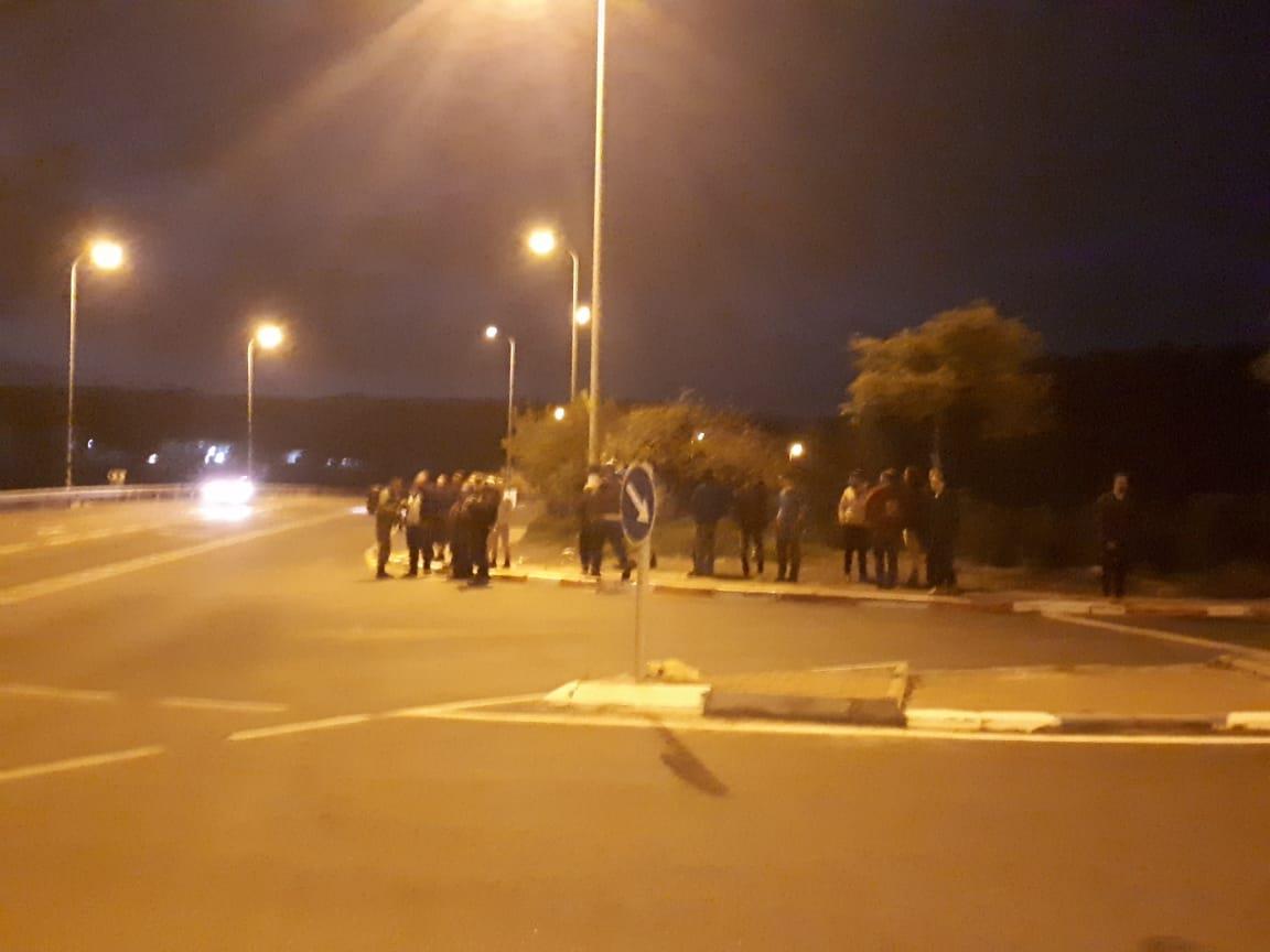 הפגנה מחאה בצומת עתניאל