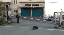 ניסיון פיגוע דקירה בחברון: המחבל נורה