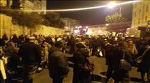 """כאלף מפגינים בירושלים: """"שחררו את הנערים"""""""