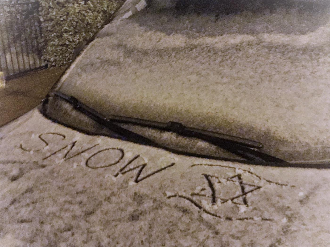 שלג בגוש עציון (לורה בן דוד TPS)