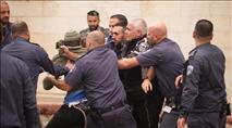 קטין נעצר בהפגנה בכניסה לירושלים  • מתעדכן