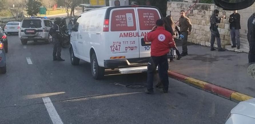 פצוע קשה מדקירה בירושלים