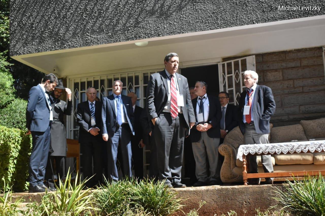 """(צילום: חב""""ד קניה)"""