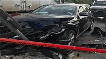 קדומים: ערבי ניגח ניידת עם רכב גנוב - שוטר נפצע