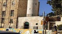 ערבים שיפצו מסגד בלב הרובע היהודי