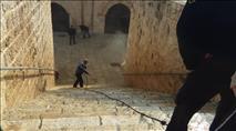 """לאחר המבוכה בבג""""ץ – המשטרה פשטה על מתחם שער הרחמים והחרימה ציוד"""
