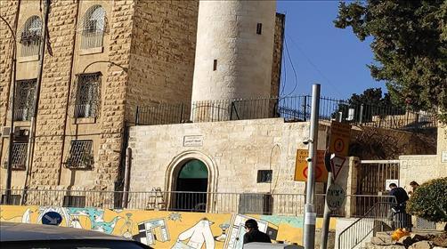 המסגד המשופץ