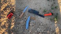 חמושים בסכיני קצבים: ערבים ניסו לחדור מעזה