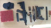 ערבים ניסו להבריח מירדן עשרות כלי נשק