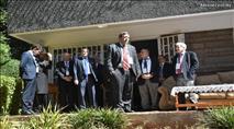 """ועידת הנשיאים היהודיים ביקרו בבית חב""""ד קניה"""