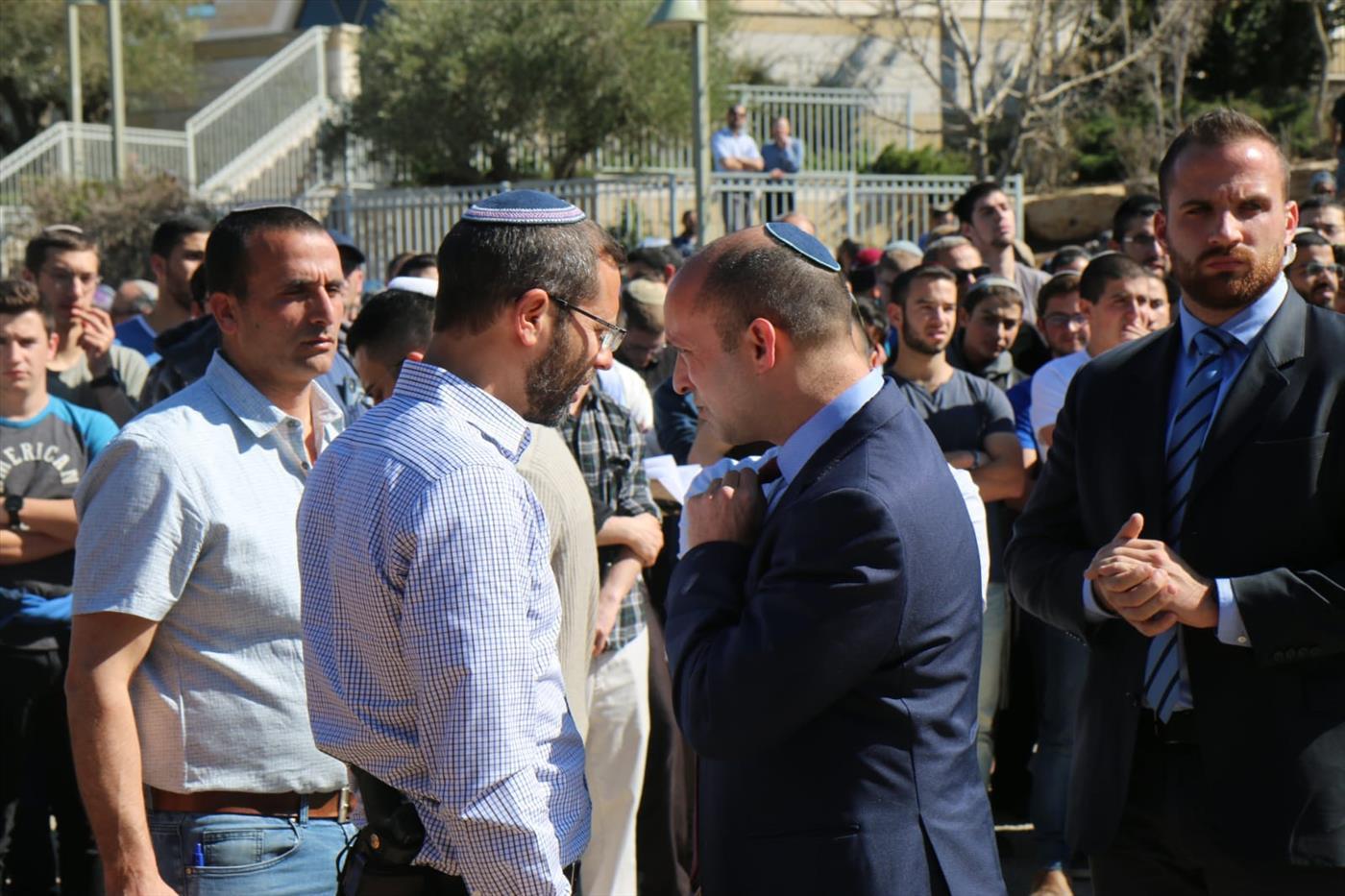 """הלווית הרב אחיעד אטינגר הי""""ד (איתן שוייבר TPS)"""