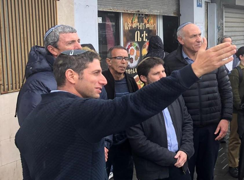 סיור המפלגה בתל אביב (דוברות המפלגה)