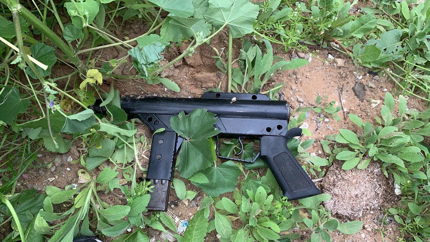 הנשק שנתפס משטרת ישראל