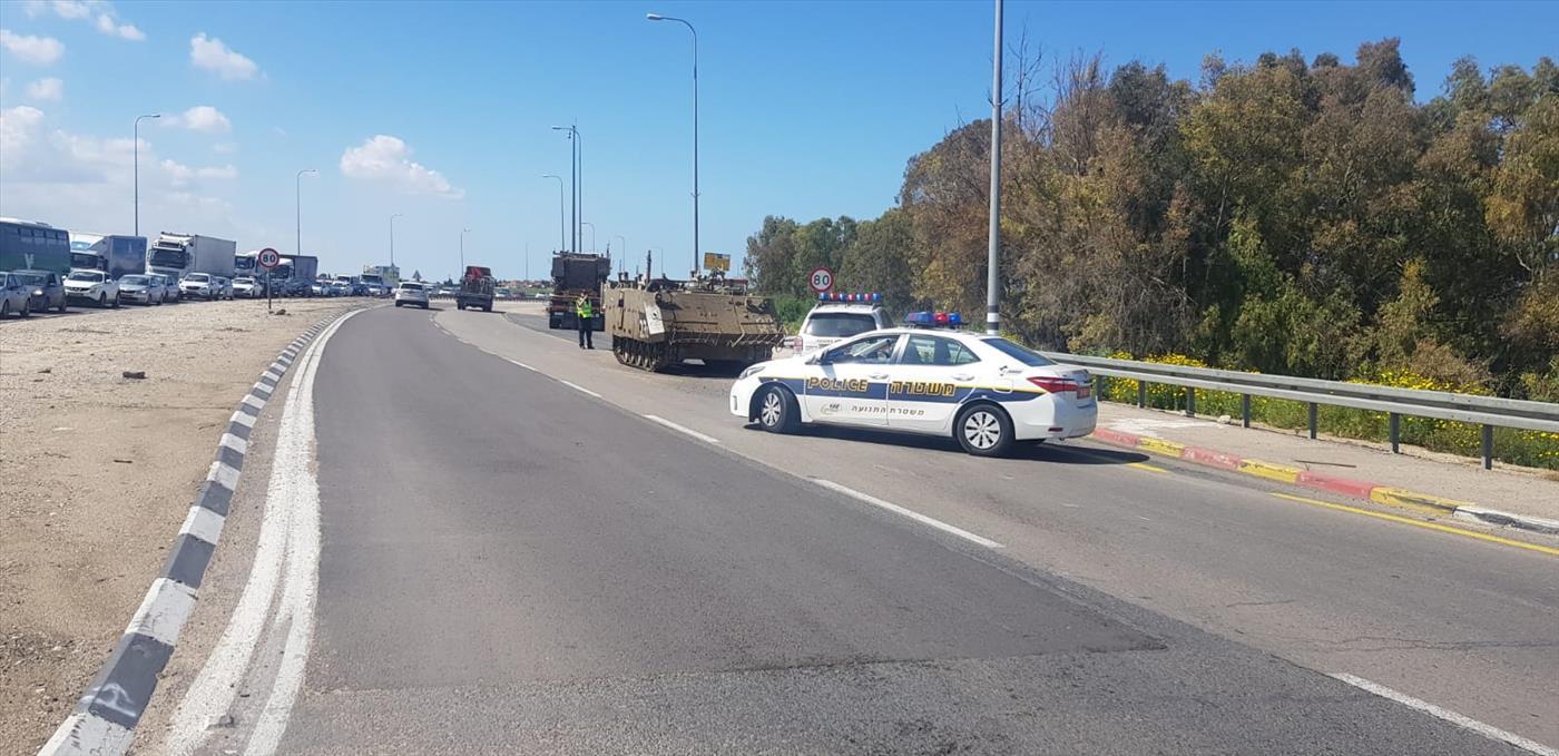 כוחות בדרום : משטרת ישראל