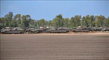 """נמשך תגבור כוחות צה""""ל על הגבול - החסימות הוחזרו"""