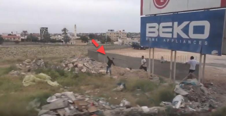 צפו: כשעיתונאים זרים הגיעו ליריחו והותקפו