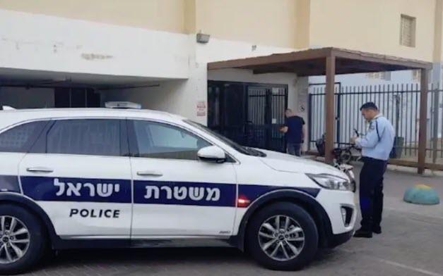 זירת הרצח באילת (דוברות המשטרה)