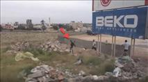צפו: עיתונאים זרים מותקפים ביריחו