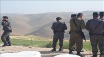 מאות שוטרים בכוכב השחר - הרס בתי תושבים