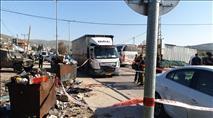 פיגוע דקירה: מחבל קפץ על רכב וניסה לדקור יהודי
