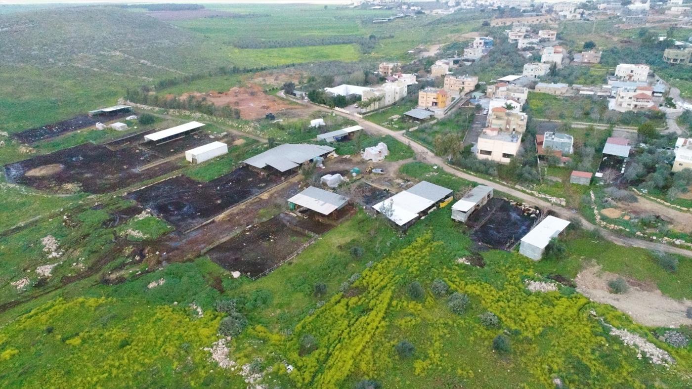 השתלטות על קרקעות בצפון (צילום: רגבים)